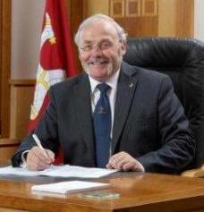 Chief Minister Tony Brown MHK