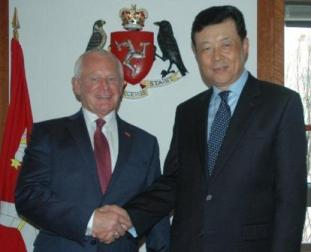 Chief Minister and Chinese Ambassador