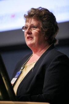 Treasury Minister Anne Craine