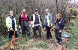 Ramsey School pupils volunteer for River Management Project