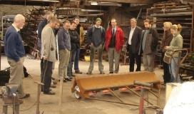 Delegates of Scallop Workshop view Hydro-dredge