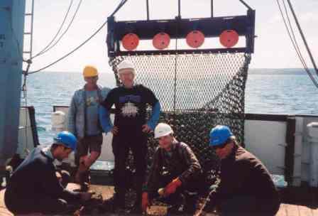 Hydro-dredge tests