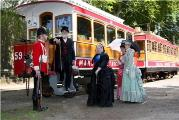 heritage victorian queen soldier companions tram