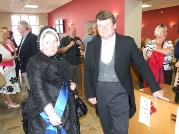 Victorian Extravaganza at Snaefell Cafe with Minister Cretne