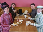 Victorian Extravaganza at the refurbished Snaefell Mountain