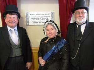 Victorian Extravaganza official re-opening with Minister and