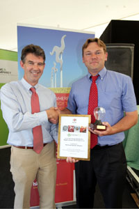 2012 Biggest Saving in Business Award, Jim Cadman, M&S