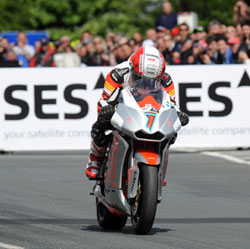 TT Zero 2012 winner Michael Rutter