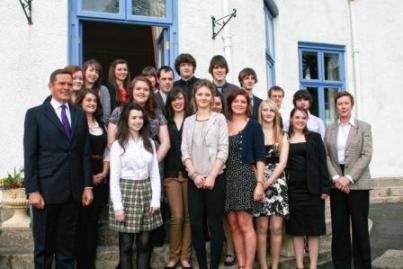 Duke of Edinburgh's Award gold recipients