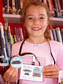 Emily Jones, eight, of St John's