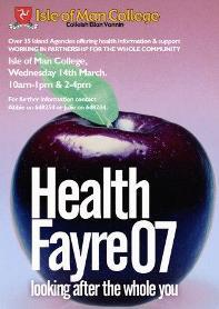 Health Fayre poster