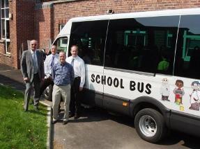 Minibus handover