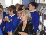 Anne Fine Meets Fairfield pupils