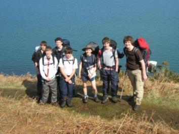 Duke of Edinburgh students
