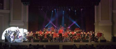 The Band of HM Royal Marines Scotland in November 2006