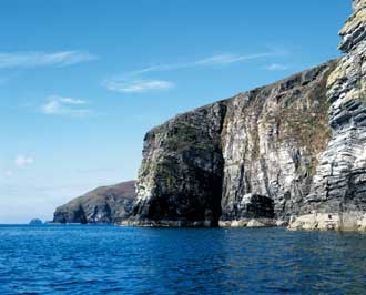 The Rock Cliffs of Spanish Head