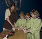 The 2006 half term Celtic Craft Workshop.