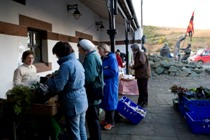 The Christmas Farmers' Market at the House of Manannan.