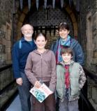 The Ward family at Castle Rushen