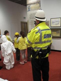 Brownies find the Ruby has been stolen from the Manx Museum!