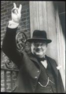 Winston Spencer Churchill at 10 Downing Street