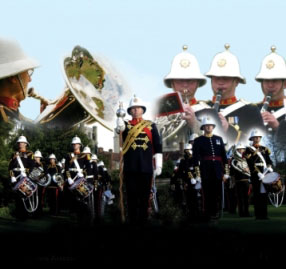 The Band of Her Majesty's Royal Marines Poster Image