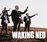Publicity still for the film Waking Ned