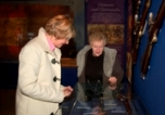 Visitors Enjoy Trafalgar Exhibition