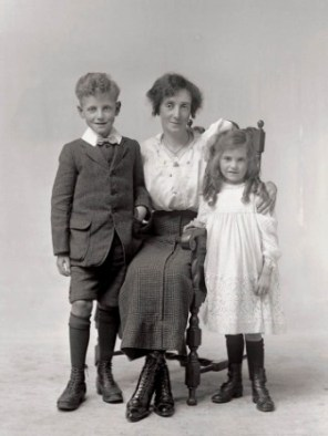 Mrs Charnley and Children