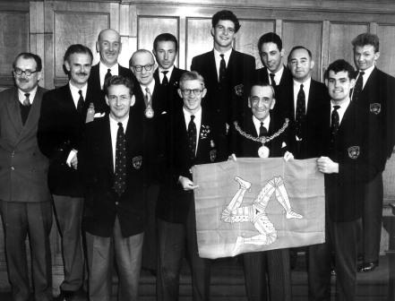 Empire Games Team 1958