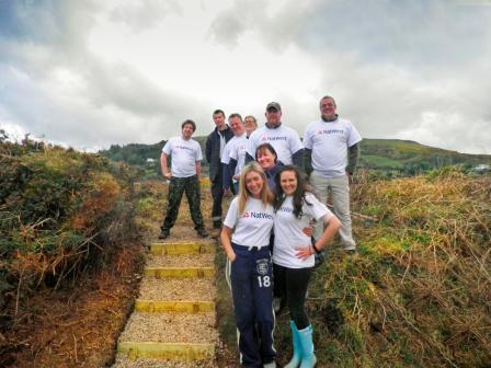 The Natwest team at Gob ny Rona