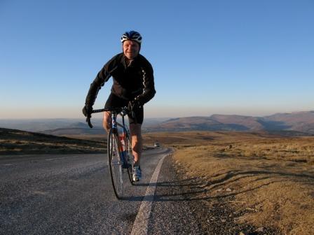 Rob Penn on his bike