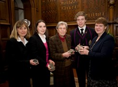 The 'handover ceremony' at King William's College