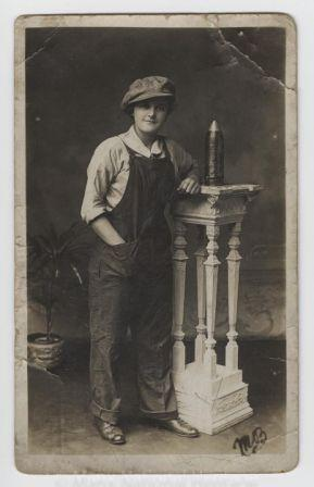 WW1 Exhibition Isle of Man | Douglas woman May Brew @ CraftyCat.im