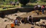The Rushen Abbey Archaeological digs in full swing