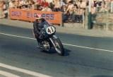 Frank Whiteway aboard the 500cc Crooks Suzuki.