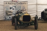 The Winning Car from the 1908 TT.