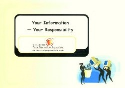 "Front cover of booklet ""Your Information - Your Responsibili"