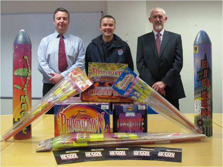 Fireworks Safety Campaign 2013