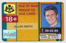 New PASS Proof of Age Card