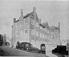 An early photo of Hanover Street School