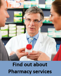 Find out about Pharmacy services