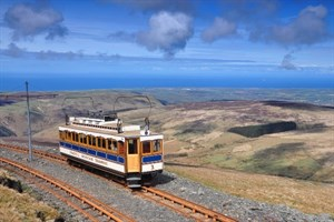 Snaefell tram Andrew Scarffe