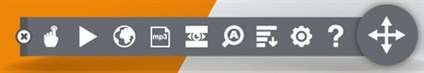 BrowseAloud Floating Toolbar