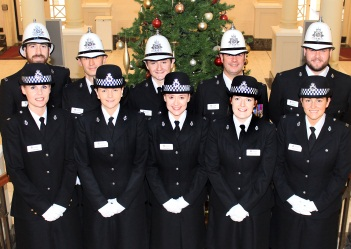 New probationary constables December 2015