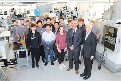 Isle of Man Government - Generous gift 'huge boost for engineering