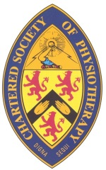 Charted Society of Physiotherapists logo