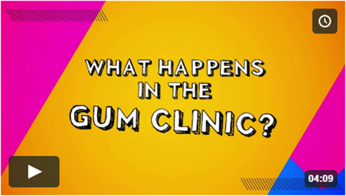 GUM Clinic - What Happens in the Gum Clinic