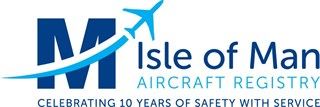 Aircraft Registry's 10th Anniversary logo