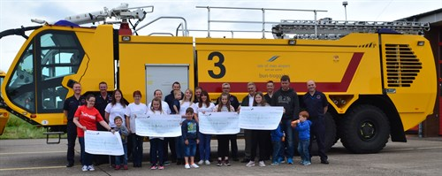 Airport cheque presentations